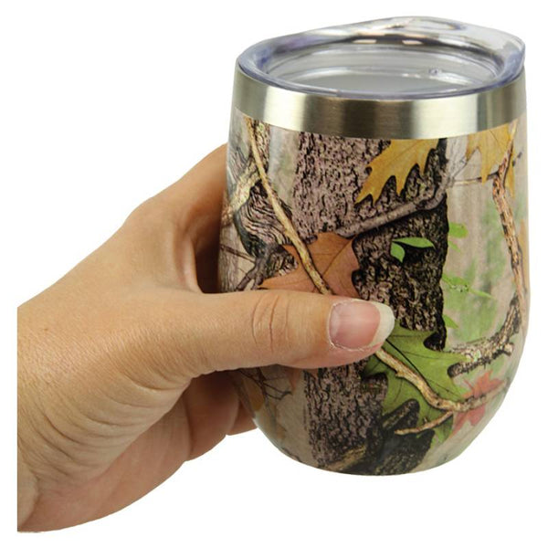Insulated Stemless Camouflage Beverage Mug