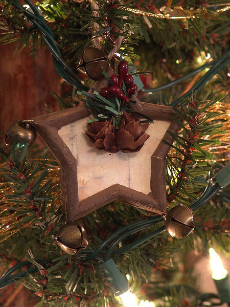 Woodland Stars & Bells Christmas Ornament 1416590C