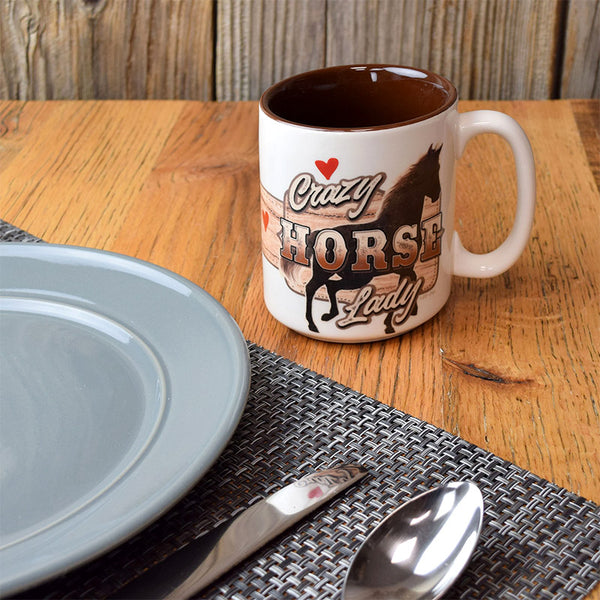 Crazy Horse Lady Ceramic Mug