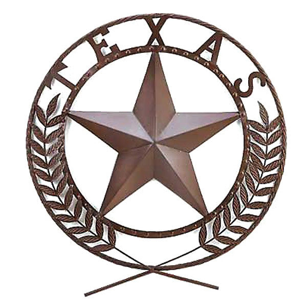Texas Star Wall Sign 38595