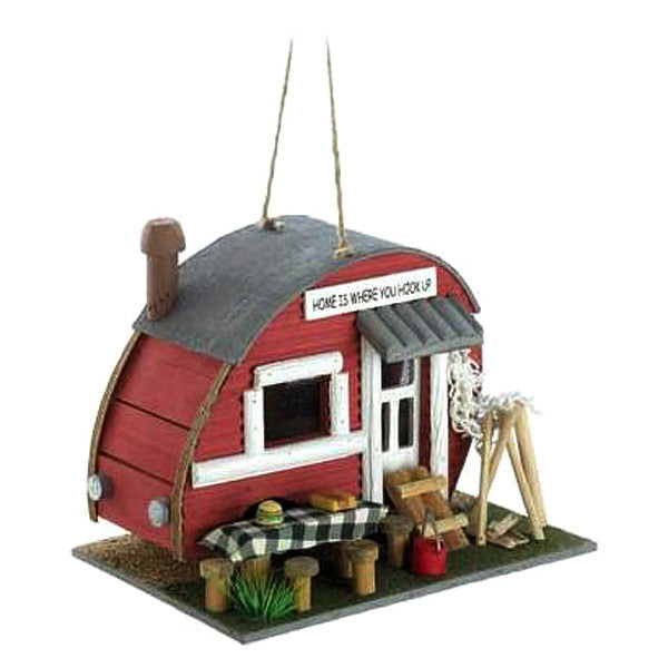 Vintage Travel Trailer Bird House 12503