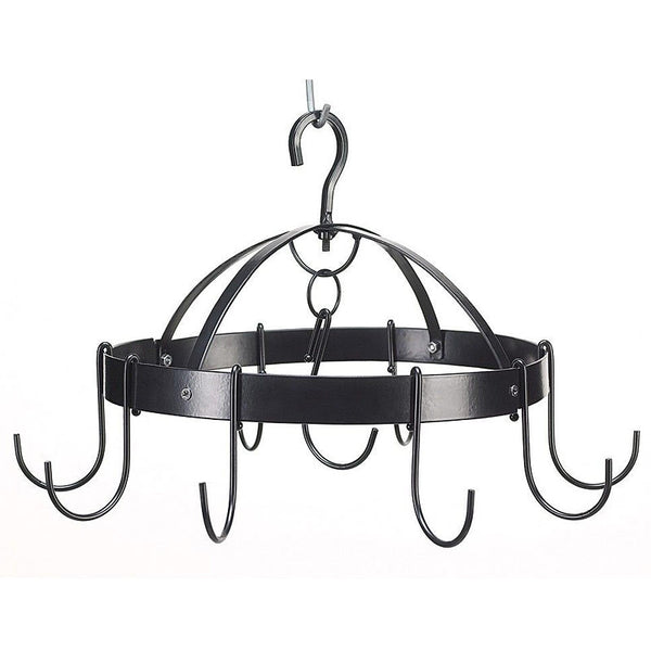 Mini Round Metal Kitchen Hanging Pot Rack 39003