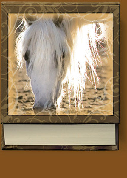 Divine West Horse Hardcover Note Pad Gentleness NP09038