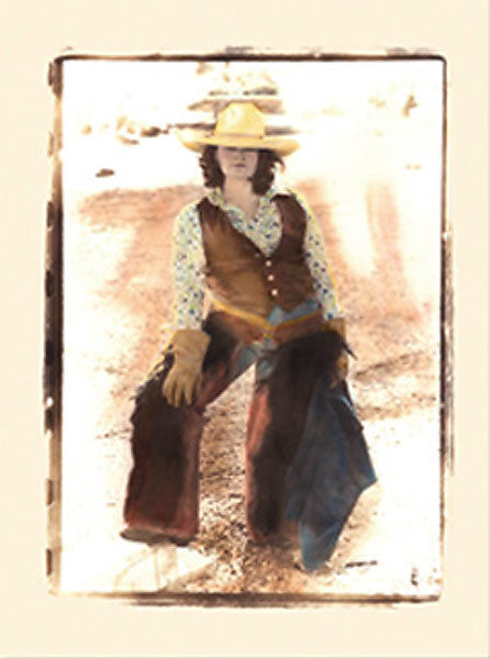 Wild West Country Girl Note Cards NC02009