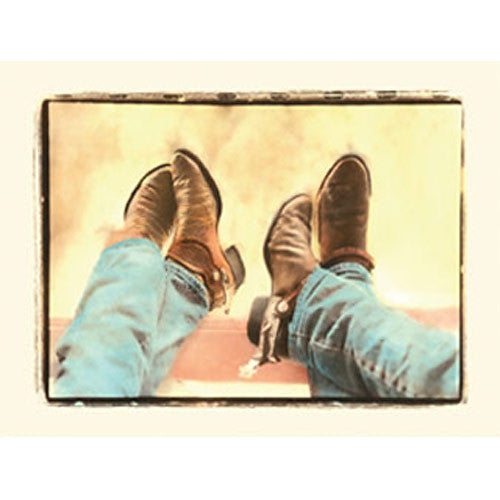 Wild West Cowboy Boots Note Cards NC98003