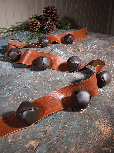 Rustic Jingle Bells Western Christmas Garland X45574