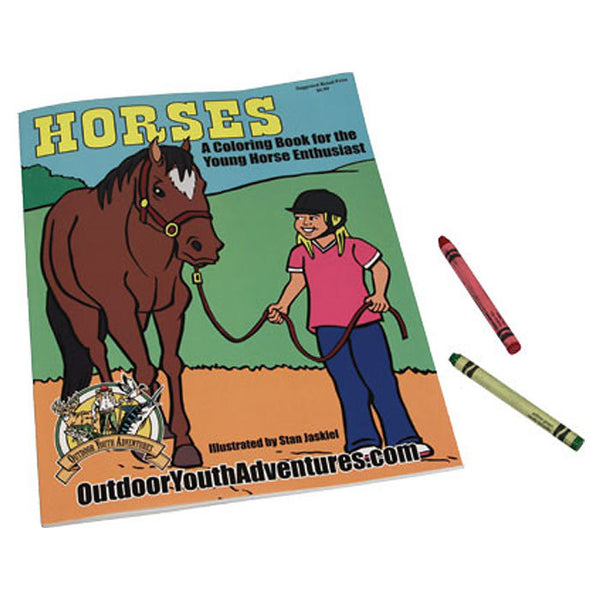 Horses Children's Coloring Book 1293CO