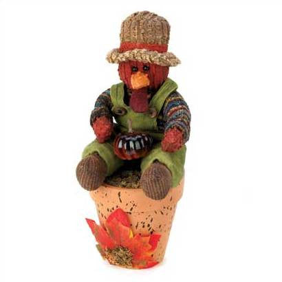 Little Dippers Scented Thanksgiving Turkey Figurine 14677