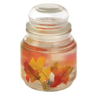 Thanksgiving Fall Leaves Fantasia Gel Candle D1079