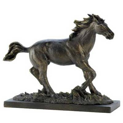 Liberty Bronze Wild Stallion Sculpture 14583
