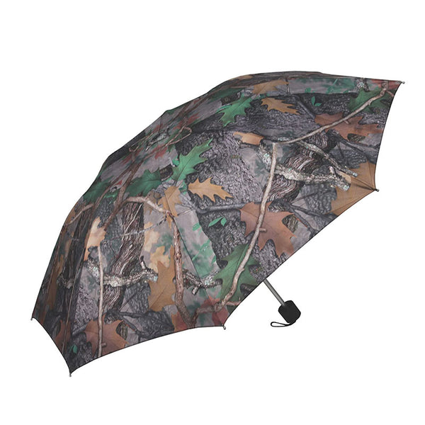 42 Inch Compact Fall Transition Green Camouflage Umbrella 247