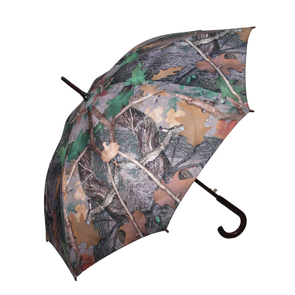 45 Inch Fall Transition Green Camouflage Full Size Umbrella 252