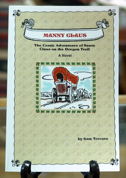 Manny Claus Western Comic Adventures of Santa Childrens Book X0454