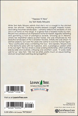 Leanin' Tree Hats Off To You Thank You Card