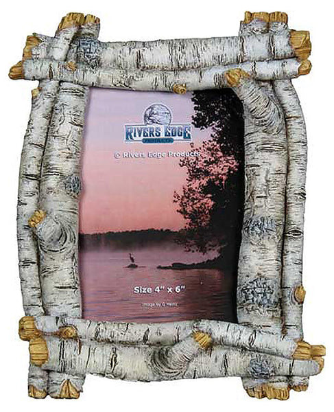 Faux Birch 4x6 Photo Frame 479