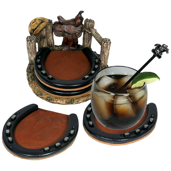 Horseshoes Coasters Set 537