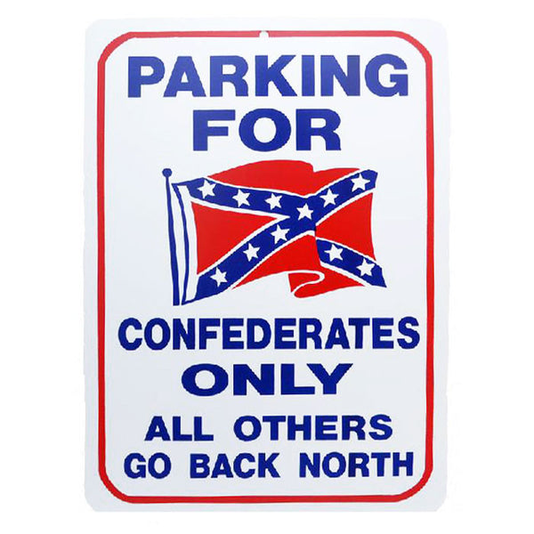 All Others Go Back North Parking Sign MS-8814