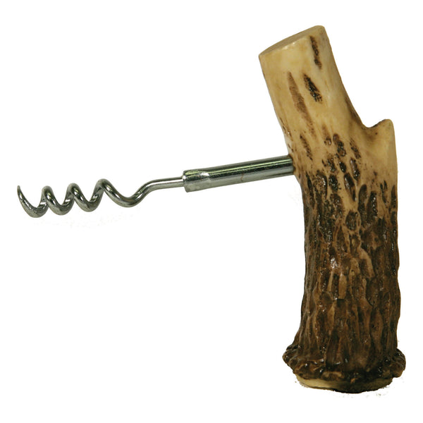 Antler Cork Screw and Bottle Stop 200