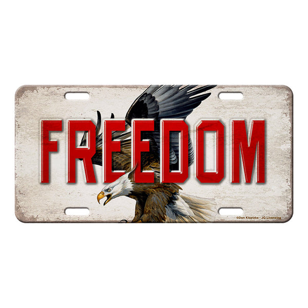 Bald Eagle American Freedom Vanity License Plate 2704