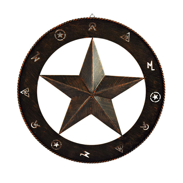 Barn Star Rustic Metal Wall Art 2686