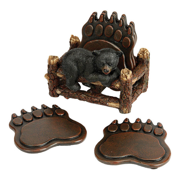 Bear Paws Coaster Set 2041