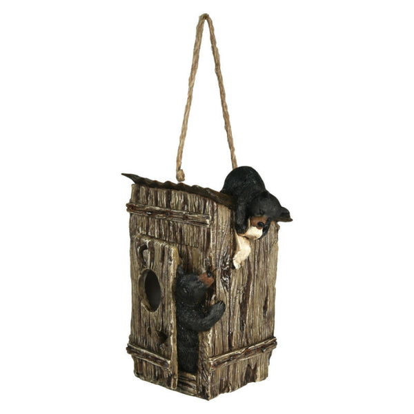 Bears In The Outhouse Birdhouse 625