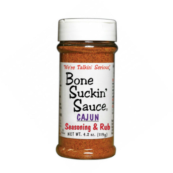 Bone Suckin' Sauce Cajun Seasoning and Rub 3538