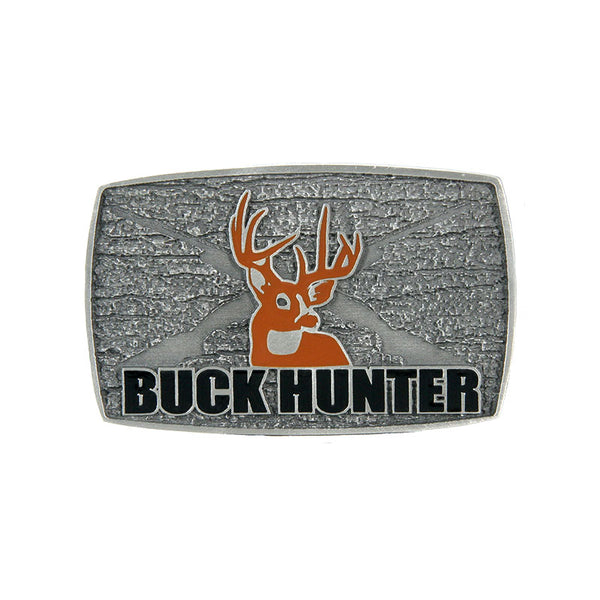 Buck Hunter Belt Buckle JD-125