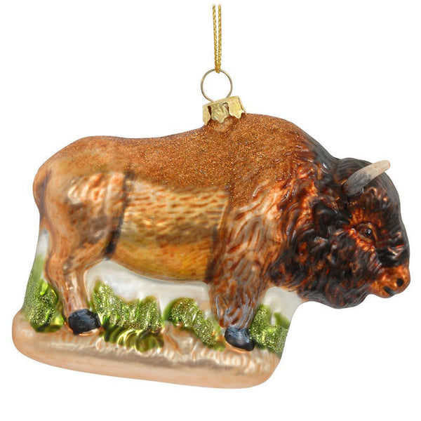Buffalo Glass Ornament 1115077