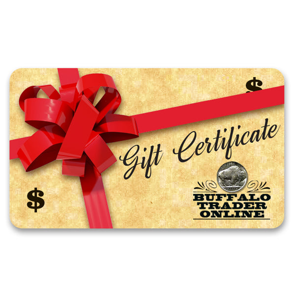 Buffalo Trader Online Gift Card