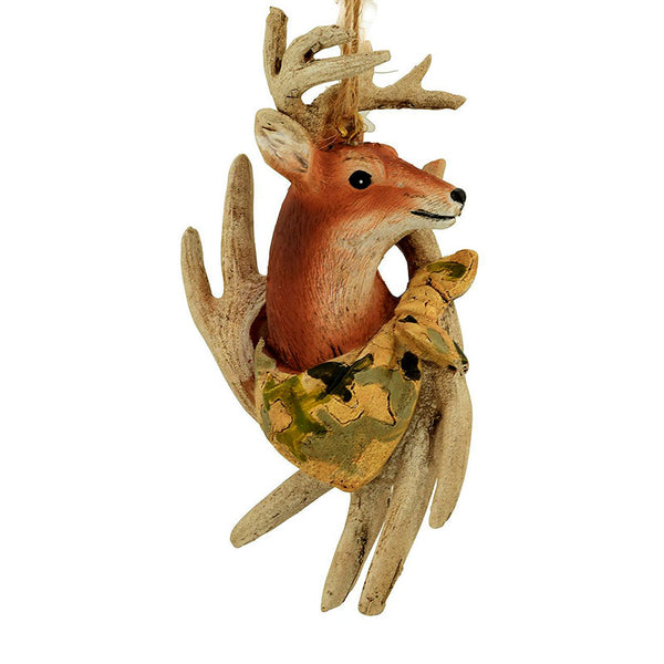 Camouflage Bandanna Deer and Antlers Ornament 1208891