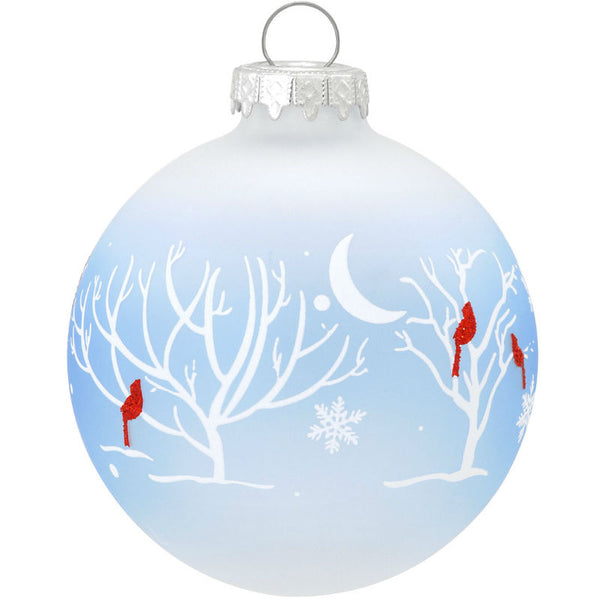 Cardinals In The Moonlight Ornament 1158798