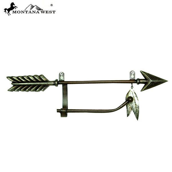 Cast Iron Arrow Toilet Paper Holder RSM-2064