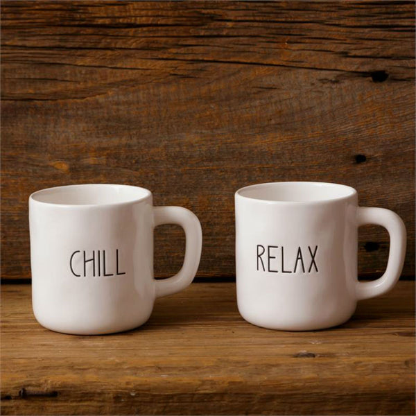 Ceramic Chill and Relax Mugs 8PT1161