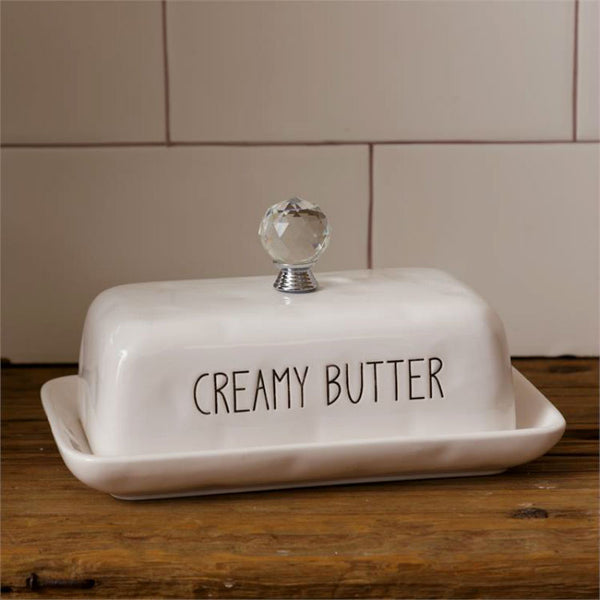 Ceramic Creamy Butter Dish 8PT1150