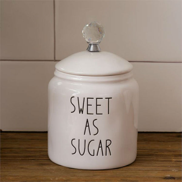 Ceramic Sweet As Sugar Canister 8PT1176