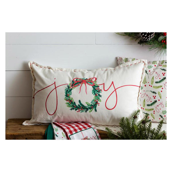 Christmas Joy Long Throw Pillow 7P5931