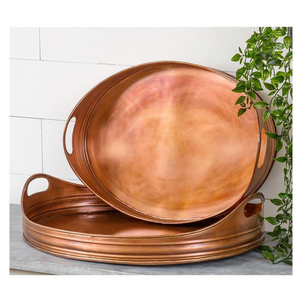 Copper Serving Trays 8T2021