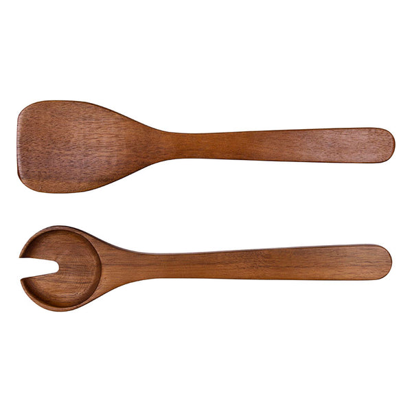 Country Wooden Salad Server Set ZUTL0004