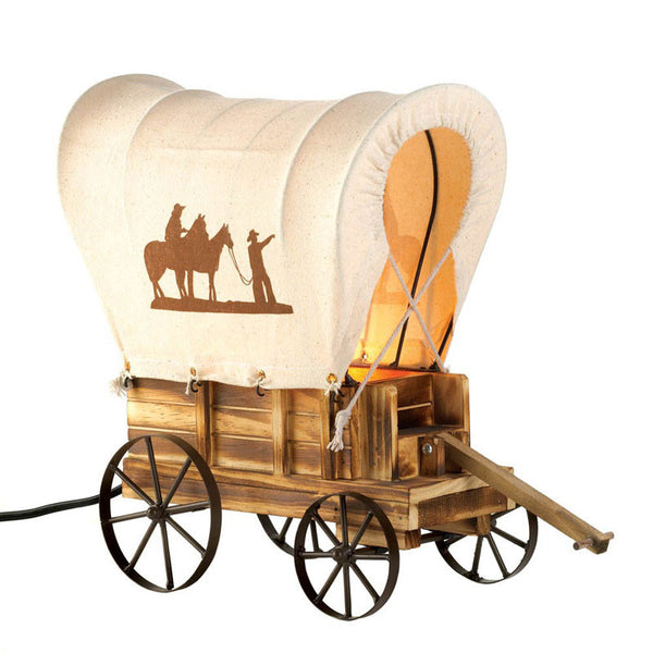 Covered Wagon Table Lamp 10015679