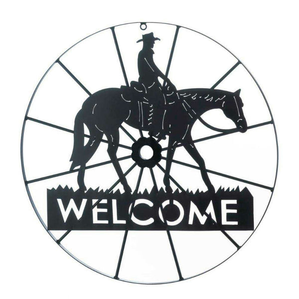 Cowboy Welcome Sign 10017314