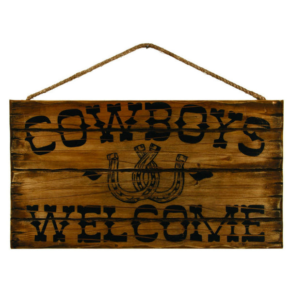 Cowboys Welcome Sign 38824