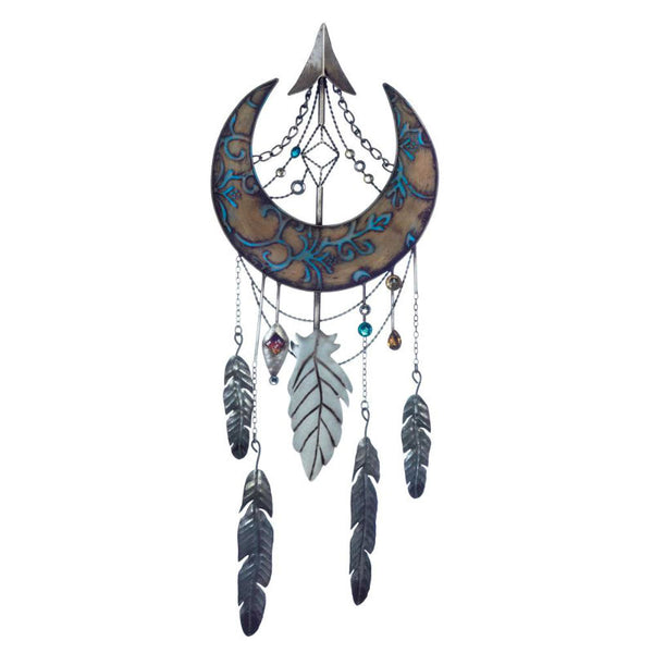 Crescent Moon Dream Catcher Wall Decor 10018376