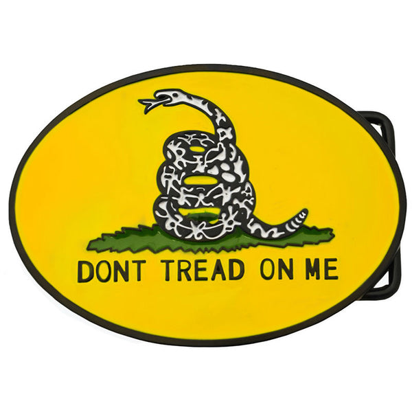Don't Tread On Me Belt Buckle BU-291