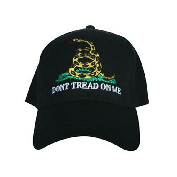 Don't Tread On Me Bibbed Hat Black CP252
