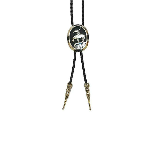 End Of The Trail Indian Bolo Tie BT-254