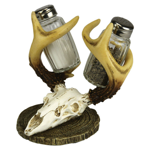 Euro Deer Antler Salt and Pepper Shakers 526