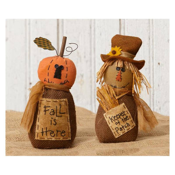 Fall Friends Stuffed Figurines 6D4146