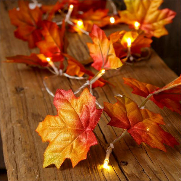 Fall Leaves Garland String Lights 6L8803