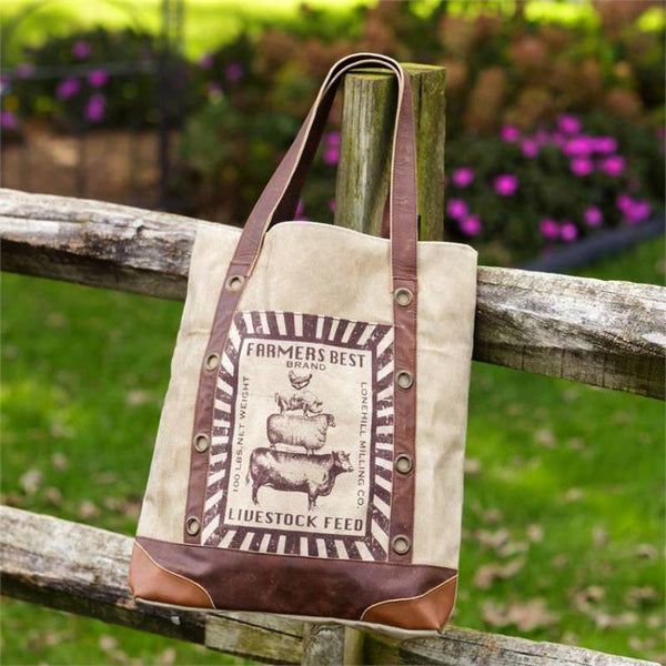 Farmers Best Brand Canvas Tote Bag 8FA1053